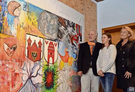 Künstler wollen Kunstwerk Raum geben